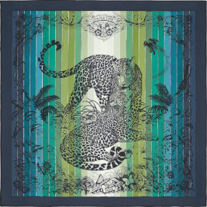 Hermes Scarf Jungle Love Rainbow