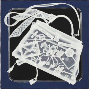 Hermes Scarf Please, Check-In