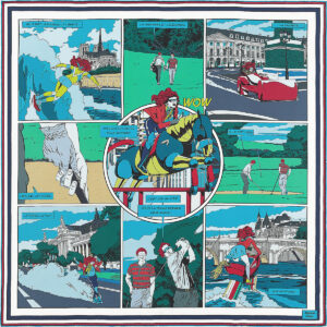 Hermes Scarf Wow Double Face